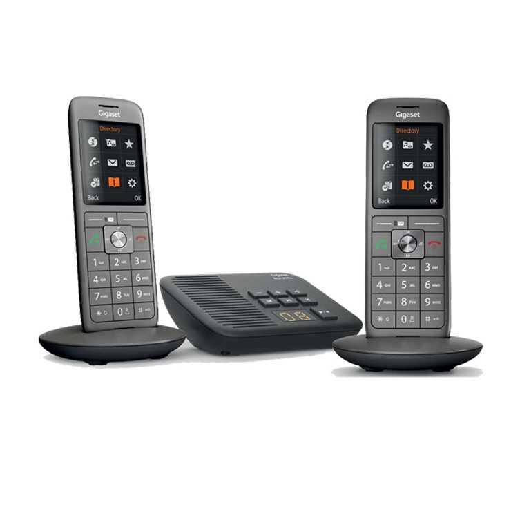 TELEPHONE CL660A DUO AVEC REPONDEUR SANS FIL NOIR 0