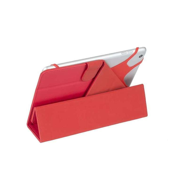 ETUI TABLETTE MODULABLE UNIVERSEL 10.1'''' CUIR PU ROUGE 3137red3