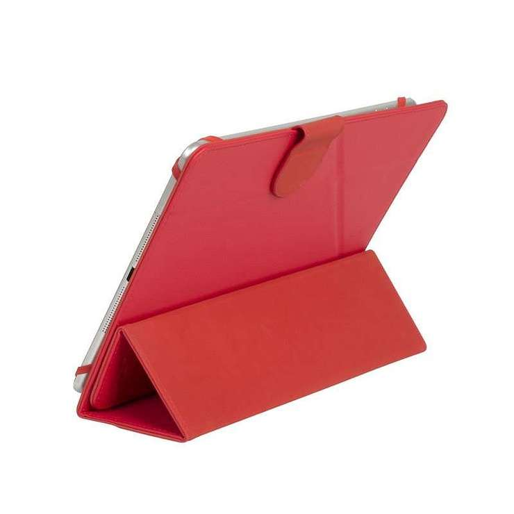 ETUI TABLETTE MODULABLE UNIVERSEL 10.1'''' CUIR PU ROUGE 3137red4