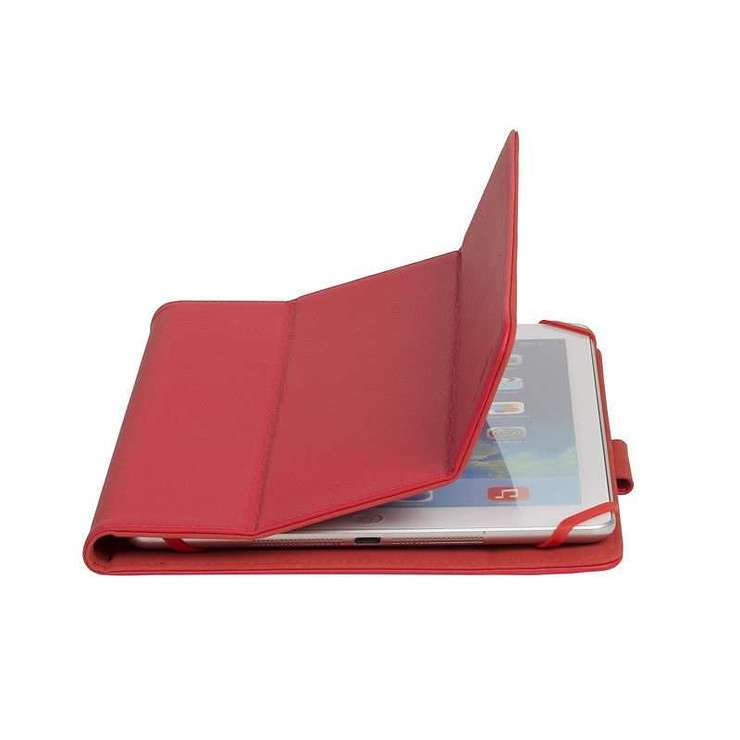 ETUI TABLETTE MODULABLE UNIVERSEL 10.1'''' CUIR PU ROUGE 3137red6