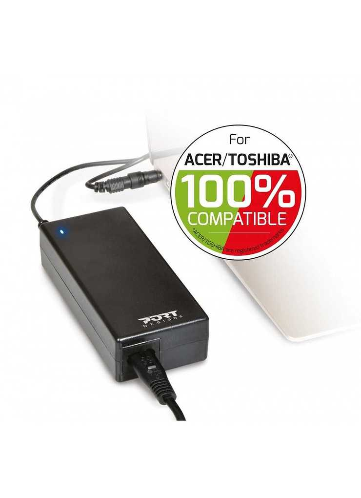 ALIMENTATION SECTEUR 90 WATTS 100% ACER/TOSHIBA COMPATIBLE 900007acto