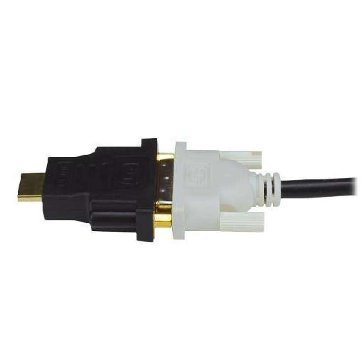 ADAPTATEUR DVI-I FEMELLE / HDMI MALE SACHET cg2804