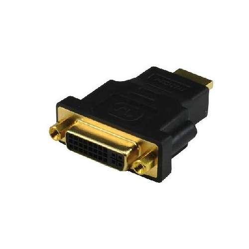 ADAPTATEUR DVI-I FEMELLE / HDMI MALE 0