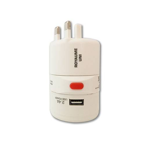 ADAPTATEUR VOYAGE UNIVERSEL 150 PAYS + USB 0