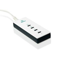 CHARGEUR SECTEUR 4 PORTS USB REVERSIBLE RAPIDE