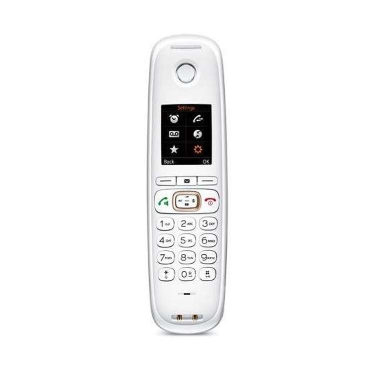 TELEPHONE FILAIRE CL750 SCULPTURE - CHAMPAGNE cl750champagne1