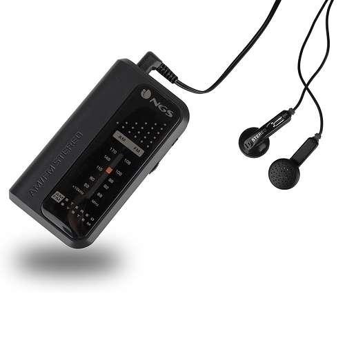 RADIO PORTABLE CODE KNOCK FM/AM + ECOUTEURS codeknock3