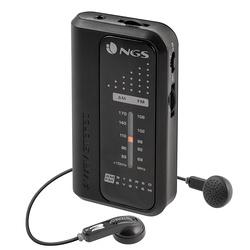 RADIO PORTABLE CODE KNOCK FM/AM + ECOUTEURS