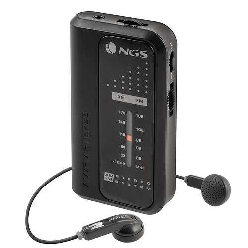 RADIO PORTABLE CODE KNOCK FM/AM + ECOUTEURS 0