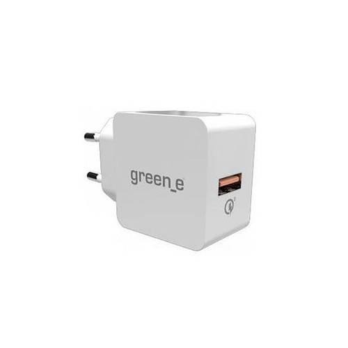 CHARGEUR SECTEUR QUICKCHARGE 3.0 USB BLANC 0