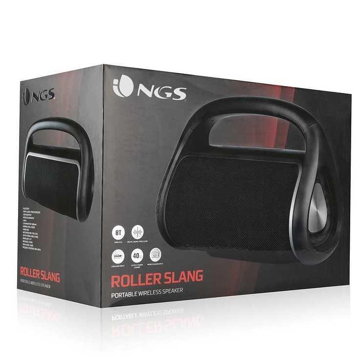 ENCEINTE ROLLER SLANG BLUETOOTH 1.0 USB SD 40 WATTS IPX5 rollerslang4
