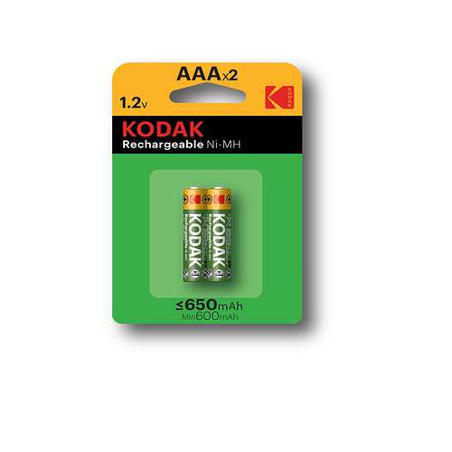 PILES RECHARGEABLES NI-MH 650 MAH ALCALINE LR03 AAA X 2 0