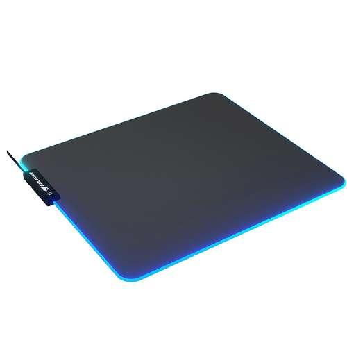 TAPIS SOURIS GAMING NEON RGB 350 X 300 X 4MM 0