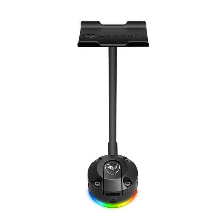 SUPPORT CASQUE BUNKER S RGB AVEC VENTOUSE NOIR 0