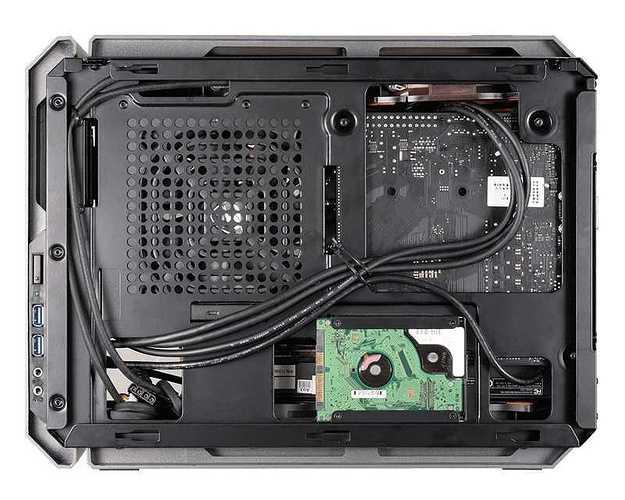 BOITIER PC GAMING QBX COMPACT qbx3