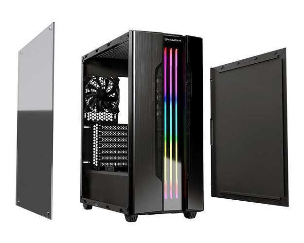 BOITIER PC GAMING GEMINI S RGB geminisiongray2