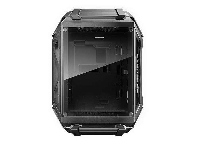 BOITIER PC GAMING GEMINI X DUAL SYSTEME ALUMINIUM geminix2