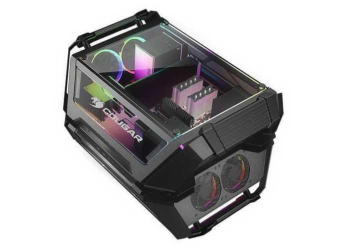 BOITIER PC GAMING GEMINI X DUAL SYSTEME ALUMINIUM geminix5