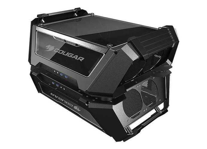 BOITIER PC GAMING GEMINI X DUAL SYSTEME ALUMINIUM geminix7