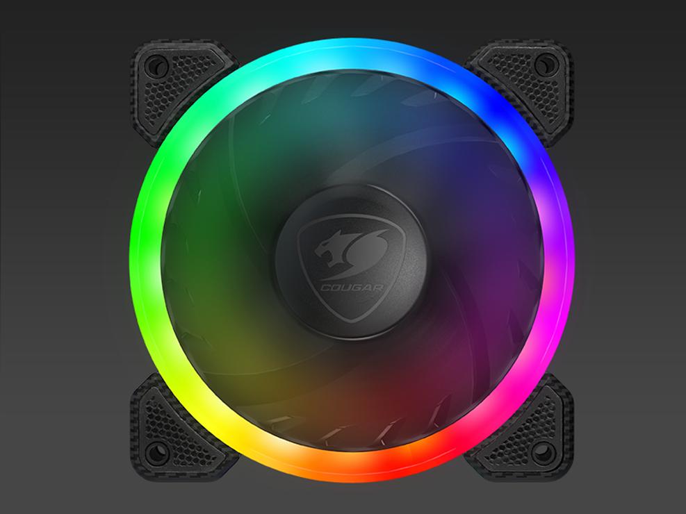 VENTILATEUR GAMING FCB120 VORTEX LED RGB fcb120rgb8