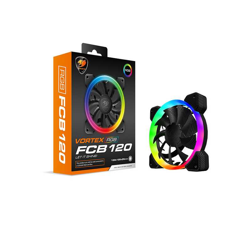 VENTILATEUR GAMING FCB120 VORTEX LED RGB 0