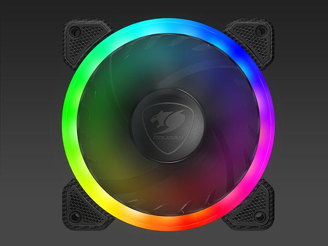 VENTILATEUR GAMING HPB120 VORTEX LED RGB hpb120rgb5