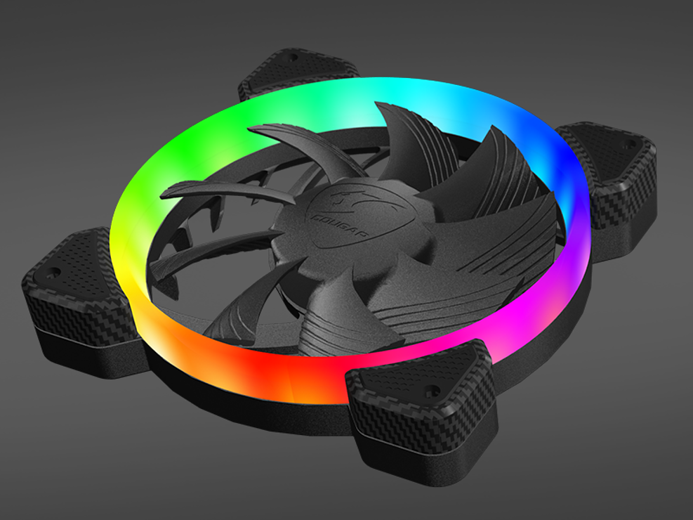 VENTILATEUR GAMING HPB120 VORTEX LED RGB hpb120rgb2