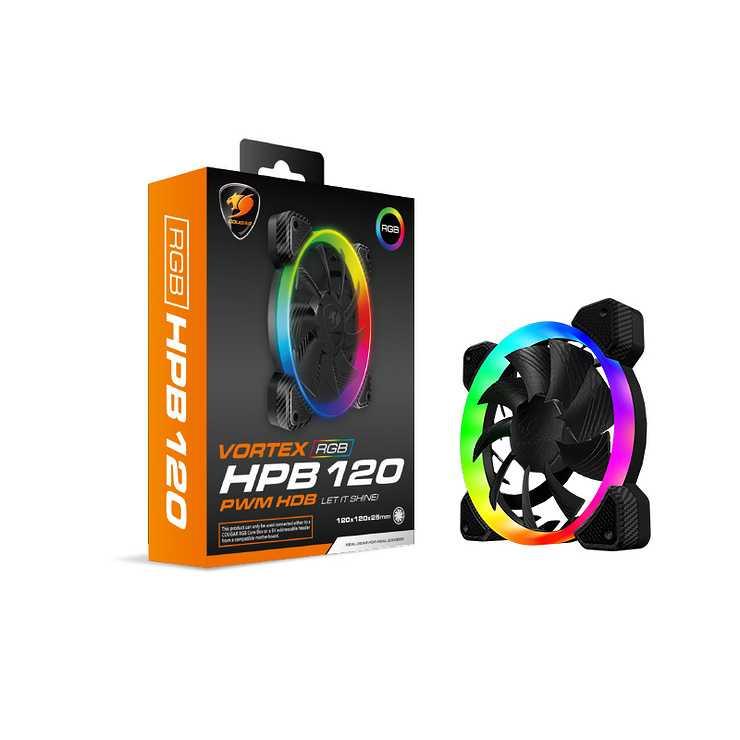 VENTILATEUR GAMING HPB120 VORTEX LED RGB 0