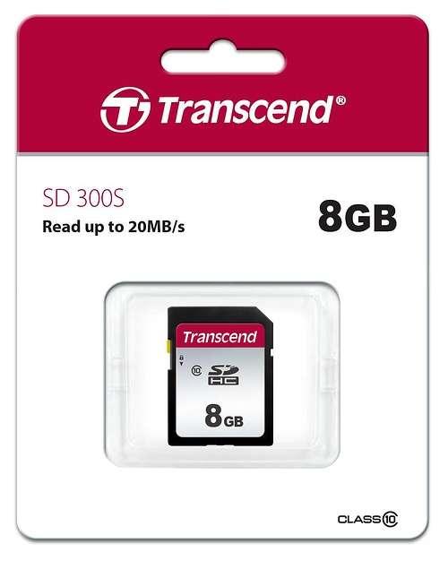 CARTE MEMOIRE SD 4GB UHS-I U1 ts8gsdc300sppb18