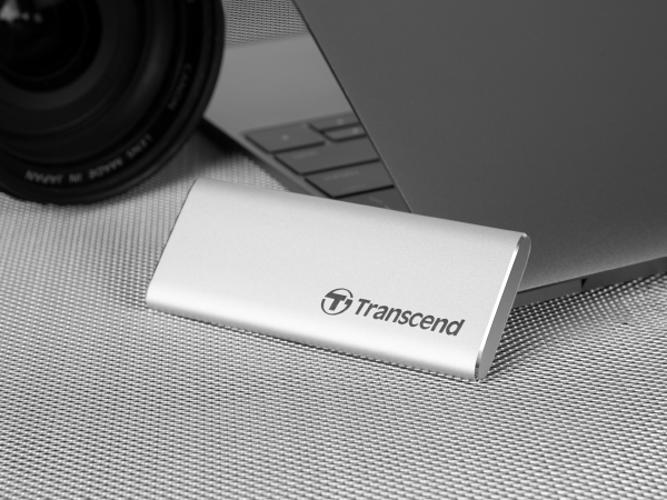 """LOT DE 2 DISQUES DURS EXTERNES 120GB SSD 2.5"""" USB TYPE-C EXTRA SLIM ts120gesd240c1"""