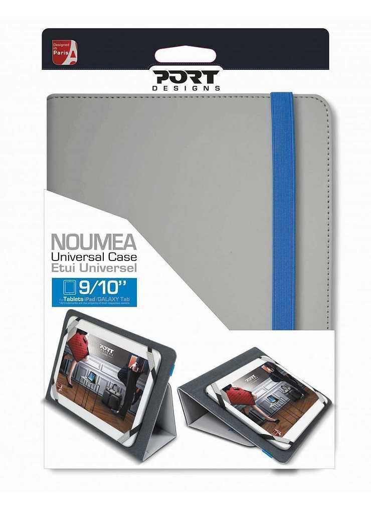 """ETUI TABLETTE NOUMEA 9/10"""" - GRIS 2013132"""