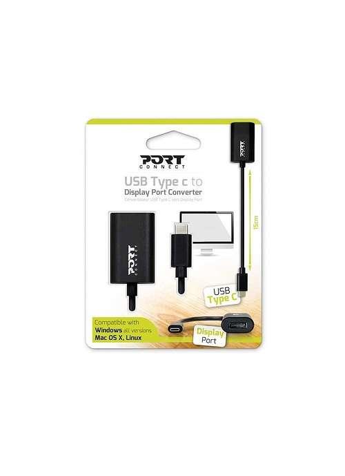 CONVERTISSEUR USB TYPE C MALE / DISPLAYPORT FEMELLE 9001277
