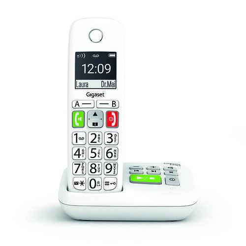 TELEPHONE E290A SANS FIL TOUCHES LARGES AVEC REPONDEUR 0