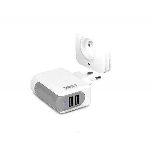 CHARGEUR SECTEUR PORT 2 X USB 3.4A 0
