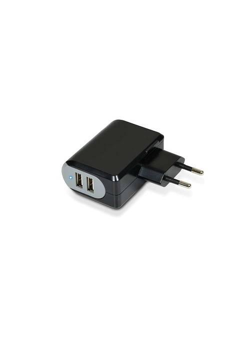 CHARGEUR SECTEUR 2 X USB 3.4A + CORDON MICRO USB 900017-2