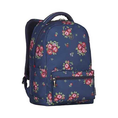 SAC A DOS COLLEAGUE 16'''' FLEURI 606469colleaguenavyfloralprintfl