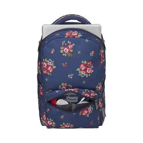 SAC A DOS COLLEAGUE 16'''' FLEURI 606469colleaguenavyfloralprintpr