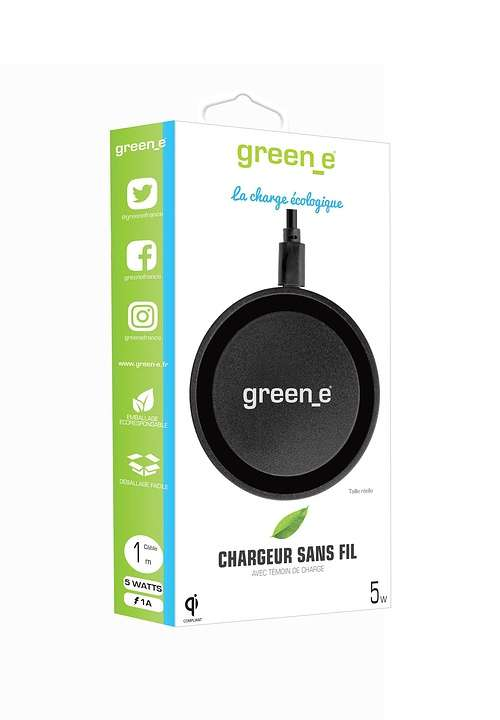 CHARGEUR A INDUCTION SANS FIL 5W/1A + CORDON  greene-packaging-gr8002-1