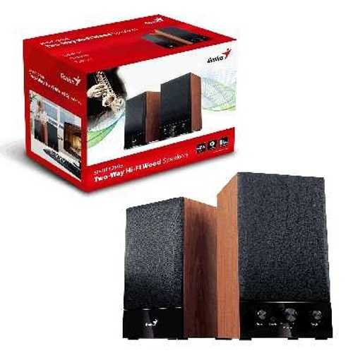 HAUT-PARLEURS SP-HF 1250B BOIS SYSTEME 2.0 PUISSANCE 40 WATTS 31731022100-2