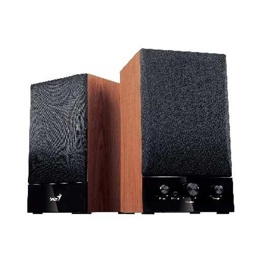 HAUT-PARLEURS SP-HF 1250B BOIS SYSTEME 2.0 PUISSANCE 40 WATTS 0