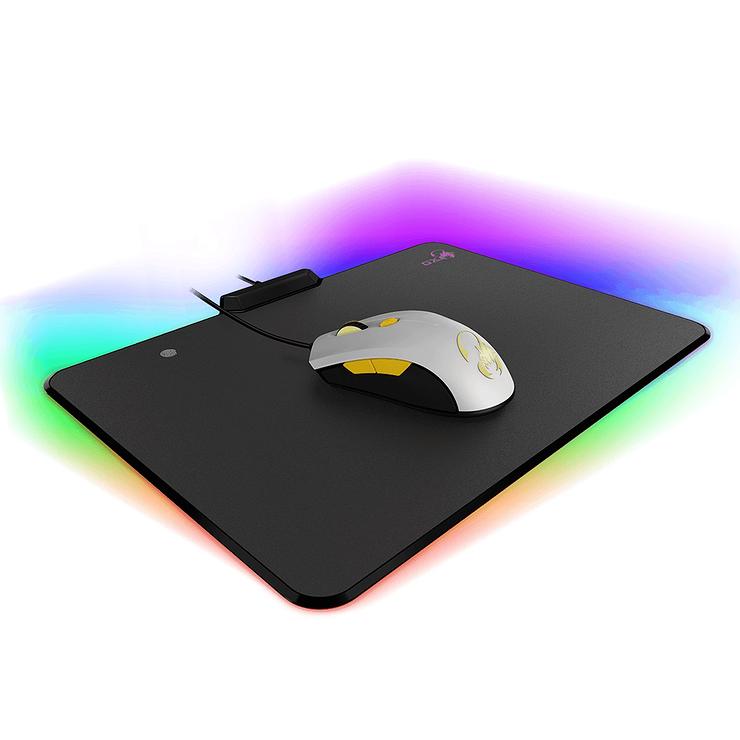 TAPIS SOURIS GX-P500 GAMING RGB 255.1x355x12.2MM 0