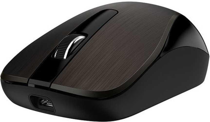 SOURIS ECO-8015 1600DPI RECHARGEABLE USB - CHOCOLAT 310300054042