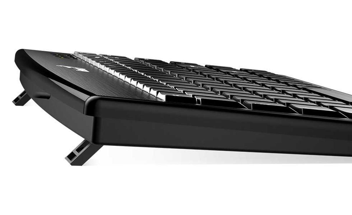 CLAVIER LUXMATE 100 USB SANS PAVE NUMERIQUE 31300725114-4
