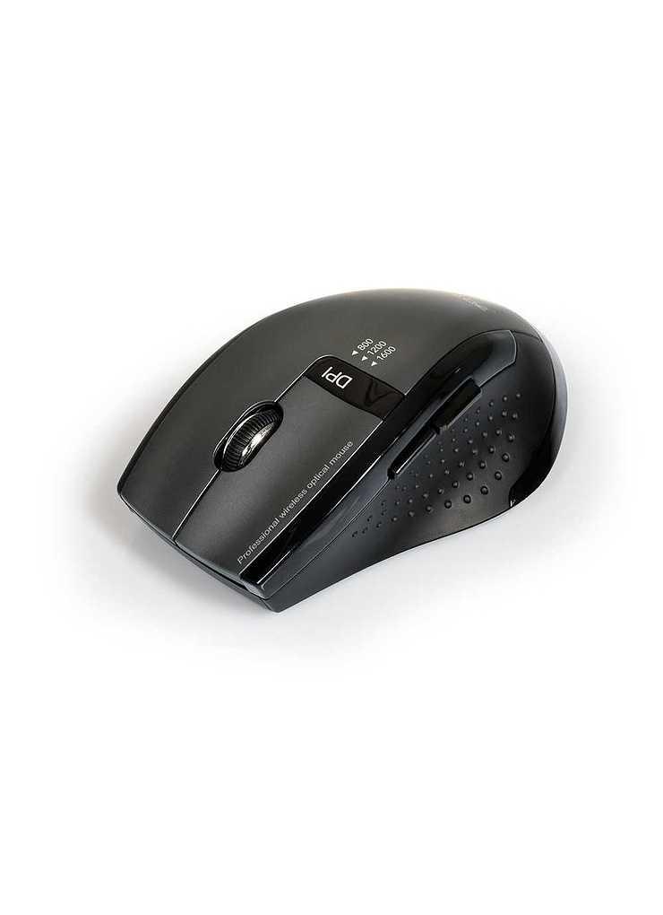 CLAVIER + SOURIS SANS FIL USB + TYPE C NOIR 9009014