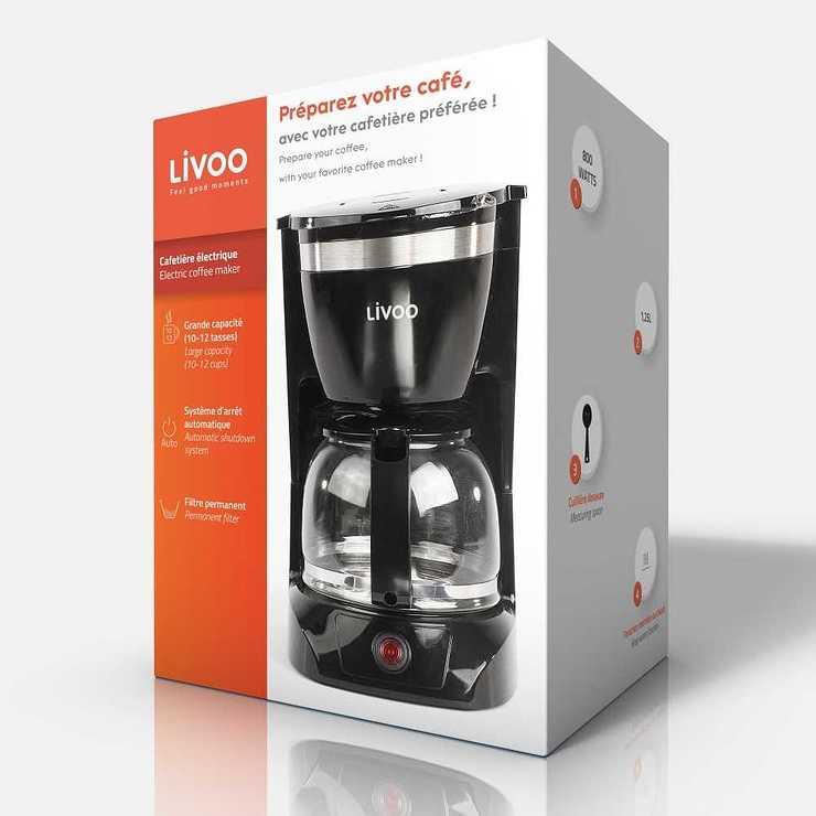 CAFETIERE ELECTRIQUE CAPACITE 10-12 TASSES NOIR dod163npack01