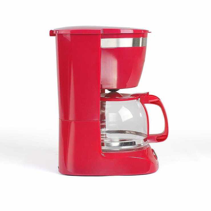 CAFETIERE ELECTRIQUE CAPACITE 10-12 TASSES ROUGE dod163r
