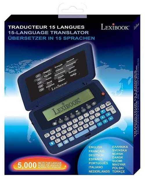 TRADUCTEUR ELECTRONIQUE 15 LANGUES ntl15702