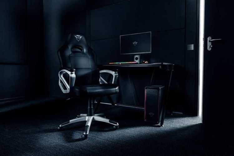 FAUTEUIL GAMING GXT-705 RYON NOIR tr232881