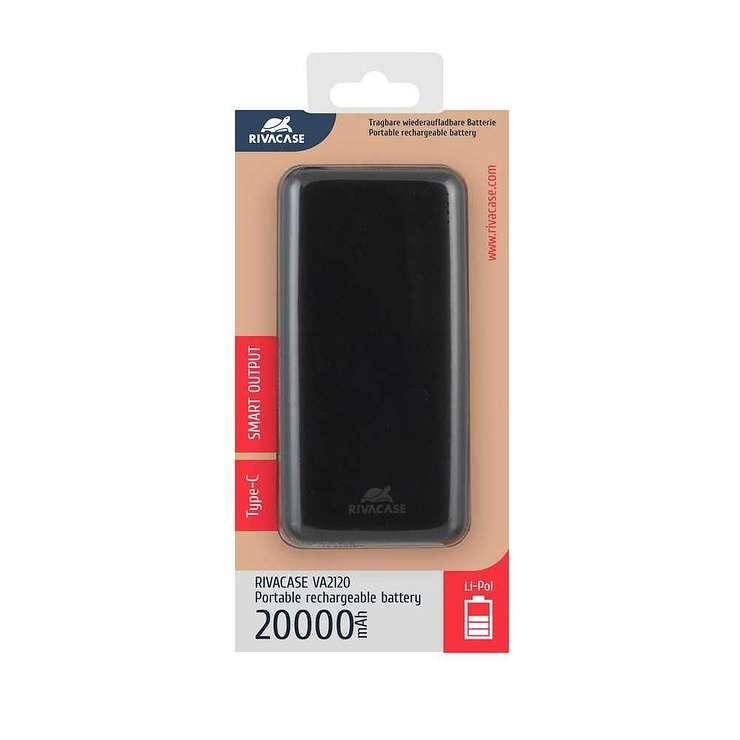 POWERBANK VA2120 20000 MAH 2.1A MICRO USB/TYPE C va2120pack