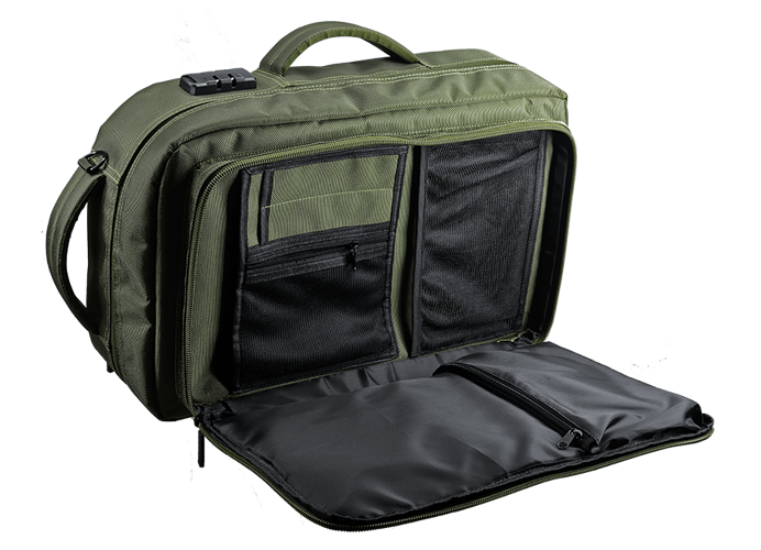 SAC A DOS FORTRESS X KAKI POUR ACCESSOIRES GAMING fortressx1